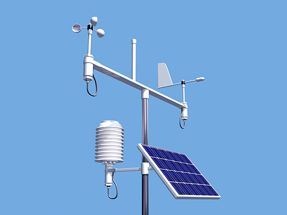 on farm weather station